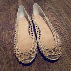 🆕🌸GAP Peep Toe Sandals
